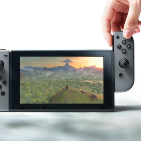 Nintendo Switch en su formato portátil