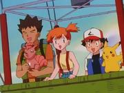 EP066 Brock, Misty y Ash en el globo