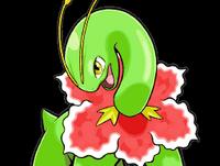 Meganium en Pokémon Ranger- Trazos de Luz