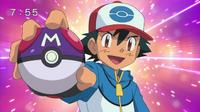 Propaganda Ash con MasterBall
