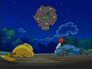 EP525 Pikachu y Ash caen ante Spiritomb