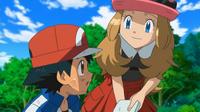 EP809 Ash junto a Serena