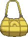 Bolso holgado amarillo