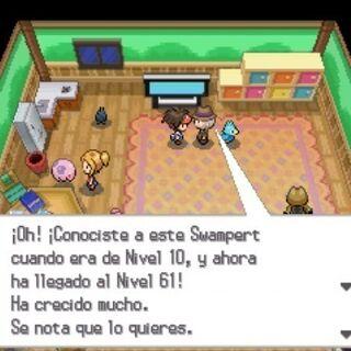 al comprobar un Pokémon de nivel 50-98 ...