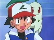 EP133 Ash con Chikorita
