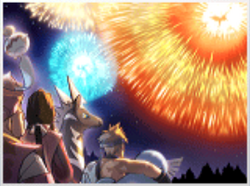 Festival - año nuevo