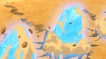 EP1085 Lycanroc usando Roca afilada