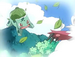 EP467 Bulbasaur vs Zangoose