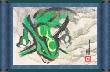 Lámina verde ROZA