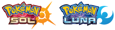 Logo Pokémon Sol y Pokémon Luna