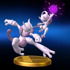 Trofeo de Mega-Mewtwo X e Y.