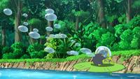 EP1014 Dewpider usando rayo burbuja