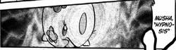 Musha usando hipnosis