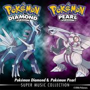 Pokémon Diamond & Pokémon Pearl - Super Music Collection