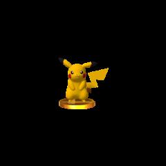 Trofeo de Pikachu en Nintendo 3DS