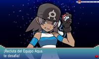 VS Recluta del Equipo Aqua (mujer) completo