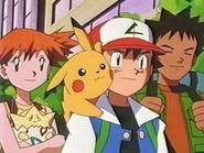 EP133 Ash, Brock y Misty