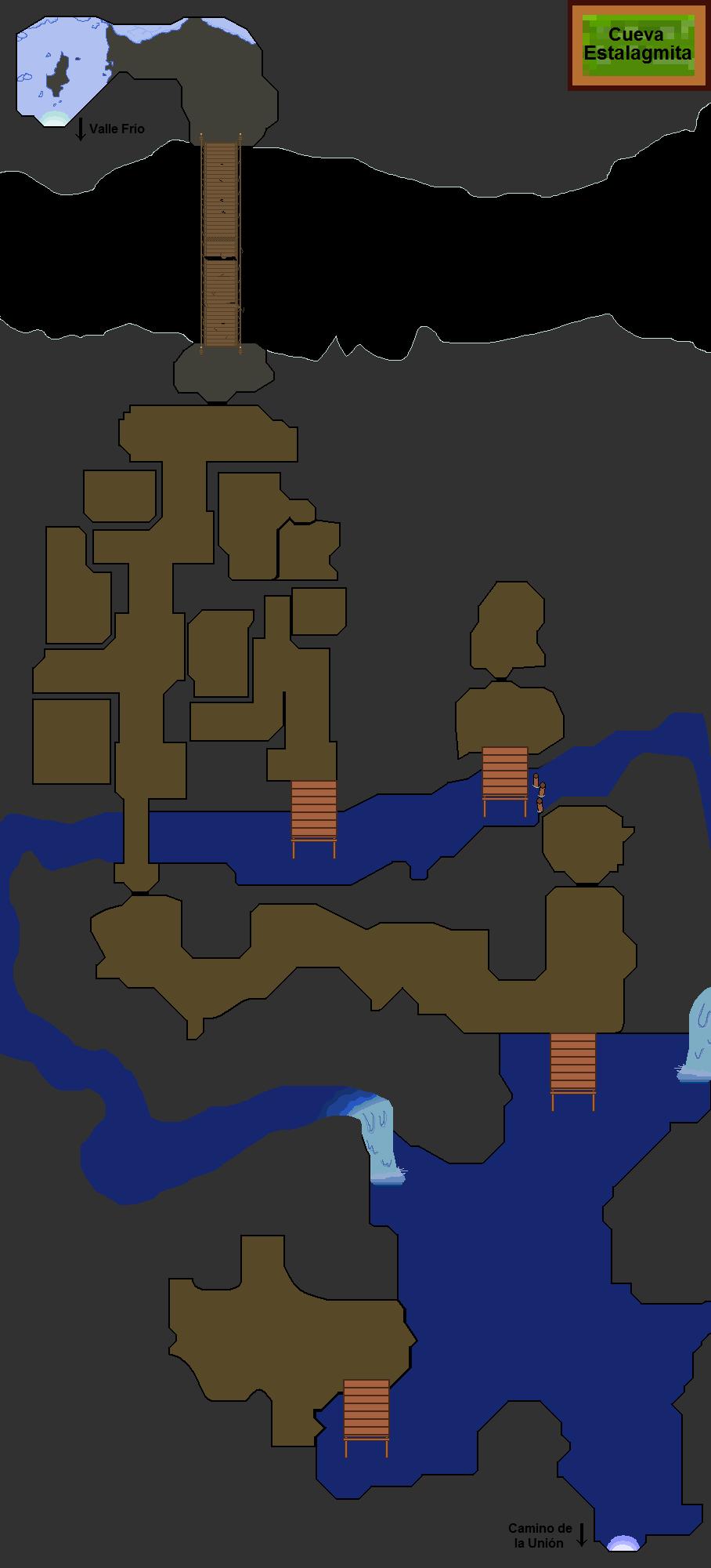 Plano de Cueva Estalagmita