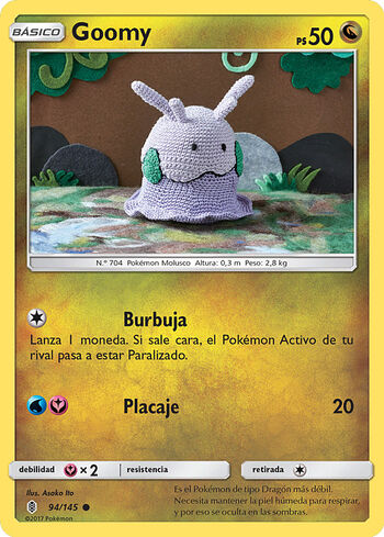 Carta de Goomy