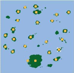 Isla Moro mapa