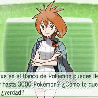 ¡Se pueden almacenar hasta 3000 Pokémon!