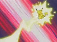EP278 Pikachu usando Rayo
