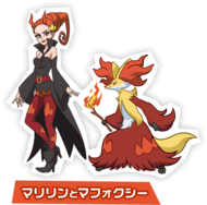 Marilyn y Delphox (The Band of Thieves & 1000 Pokémon)