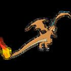 Mega-Charizard Y espalda G6