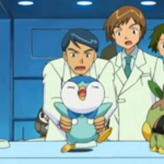 Yuzo sujetando a <a href=