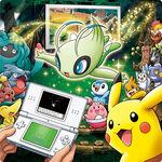Evento de Celebi en Pokémon Oro HeartGold y Plata SoulSilver