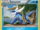Samurott (Negro y Blanco 31 TCG)