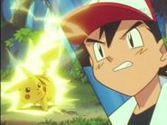 EP003 Pikachu usando impactrueno