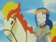 EP033 Lara con su Ponyta