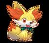 Fennekin Pokémon Mundo Megamisterioso