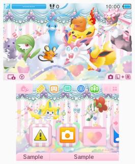 Tema 3DS Pokémon colección PokeKyun