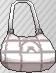 Bolso holgado blanco