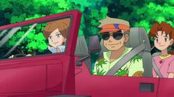 EP661 Encina, Oak y Delia en el coche