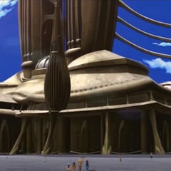 Base de las torres.