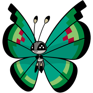 Vivillon vergel (dream world)