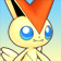 Cara de Victini 3DS