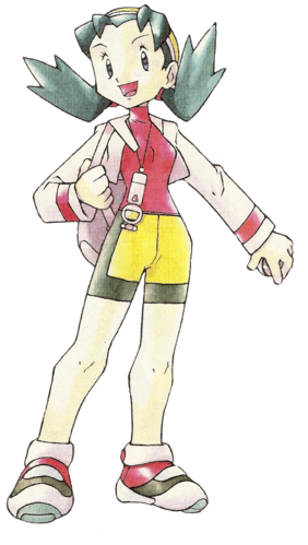 "Ilustración de Cris en <a href=""/wiki/Pok%C3%A9mon_Cristal"" title=""Pokémon Cristal"" class=""mw-redirect"">Pokémon Cristal</a>"