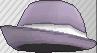Fedora morado