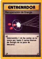 Recuperacion de Energia (Base Set TCG)