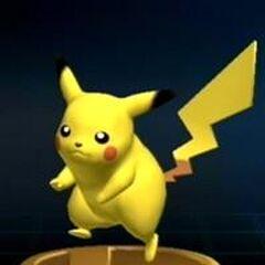 Trofeo de Pikachu en Brawl.