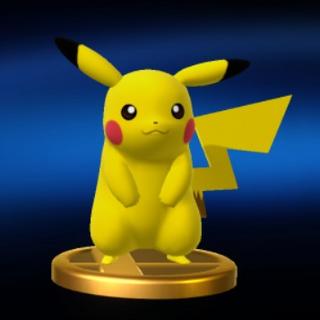 Trofeo de Pikachu en Wii U.