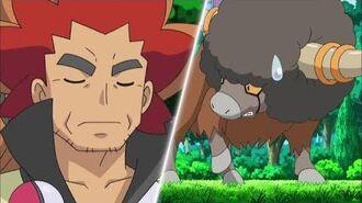 Ash vs el Campeón (dormilón) Negro y Blanco Destinos rivales