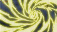 EP1044 Pikachu usa Electrotela para provocar a Zeraora