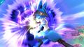 Lucario usando esfera aural SSB4 Wii U