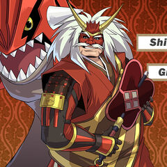 Takeda Shingen y Groudon