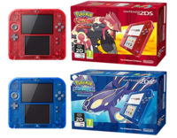 Pack 2DS Transparente ROZA